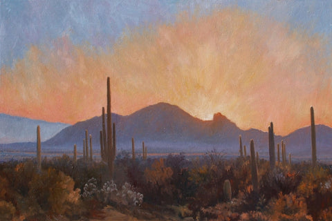 Camelback Colors - Oil Paintings by artist John Horejs