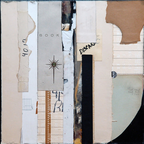 By The Book - Collage Mixed Media Collage by artist Crystal Neubauer