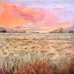 Fields of Color - Cold Wax & Oil Paintings by artist Melanie Ferguson Art