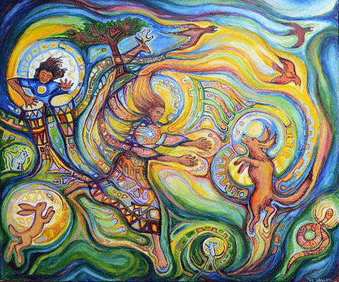 Rhythm and Joy - Acrylic Paintings by artist Ted Wallace