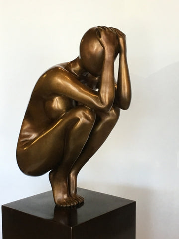 Equilibrium - Bronze Sculpture by artist EDWARD LaBranch