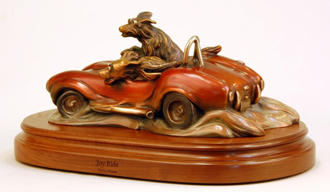 Joy Ride - Bronze Sculpture by artist Gary Alsum