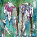 Abiding Heart - Acrylic /Mixed Paintings by artist Ann Younger