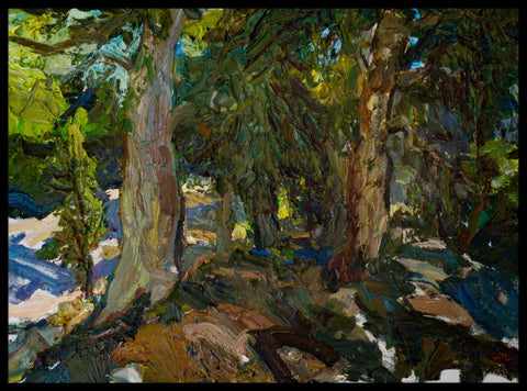 In the Shade of Summer - Oil Paintings by artist Brian Cote