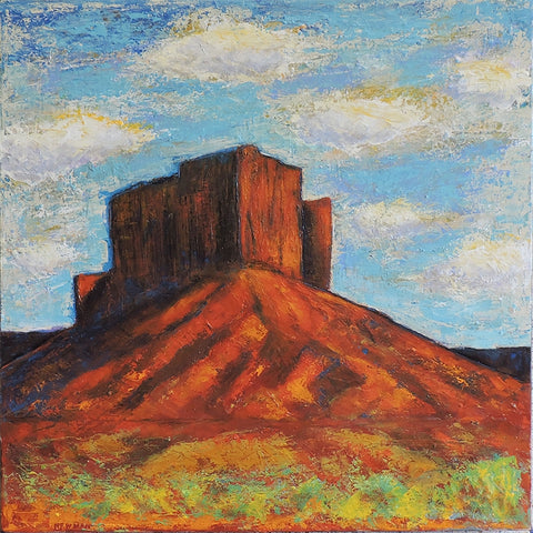 Big Mesa - Acrylic Paintings by artist Dave Newman
