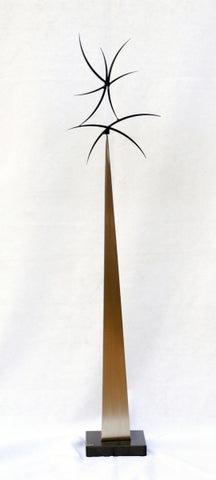 Encounter - Steel Sculpture by artist Dan Toone