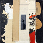 Day 26: 40 Day Series - Collage Mixed Media Collage by artist Crystal Neubauer
