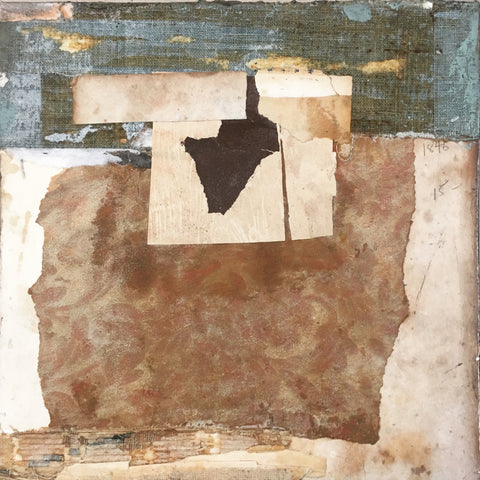 Day 9: 40 Day Series - Collage Mixed Media Collage by artist Crystal Neubauer