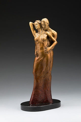 Heart and Soul - Bronze Sculpture by artist Phyllis Mantik deQuevedo