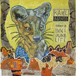 Rawl Ebbenflo - Mixed Media on Panel Collage by artist Yvonne Gaudet
