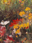 Summer Garden I - Oil Paintings by artist John Horejs