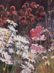 Summer Garden II - Oil Paintings by artist John Horejs