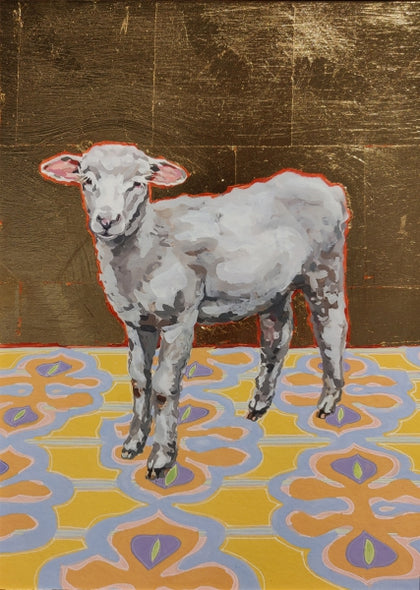 Louise - Giclee - Gold Leaf Embellishment  Giclee by artist Xima Hulings