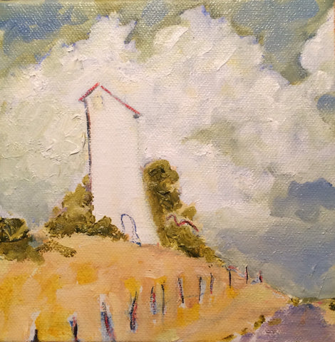 WINDY DAY - Oil Paintings by artist Constance Patterson