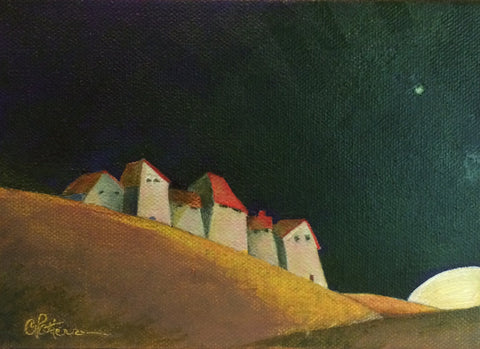 NIGHT WATCH - Oil Paintings by artist Constance Patterson