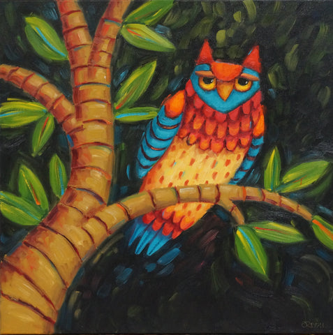 Joyfully Seeing All - oil on canvas Paintings by artist Cindy Revell