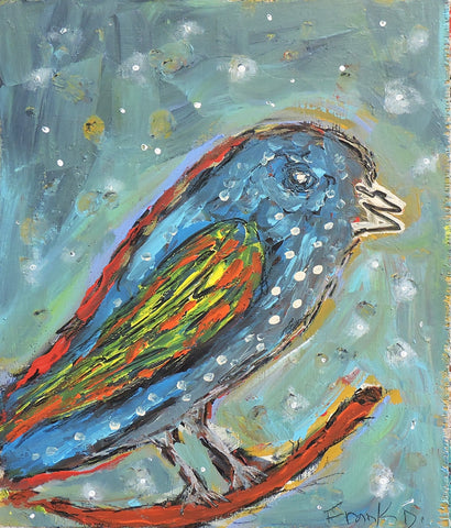 Bird 42 -  Paintings by artist Frank Discussion