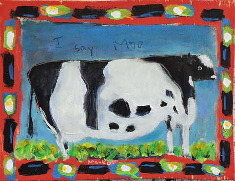 Cow -  Paintings by artist Frank Discussion