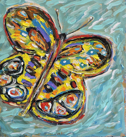 Butterfly -  Paintings by artist Frank Discussion
