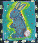 Rabbit -  Paintings by artist Frank Discussion