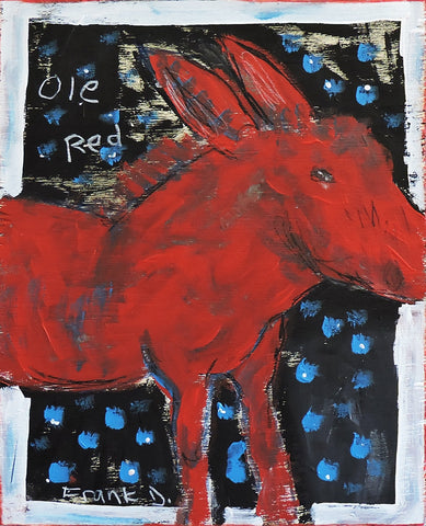 Ole Red -  Paintings by artist Frank Discussion