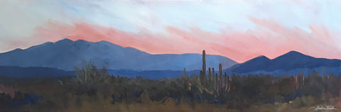 Desert Dawn  - Acrylic Paintings by artist Shalece Fiack
