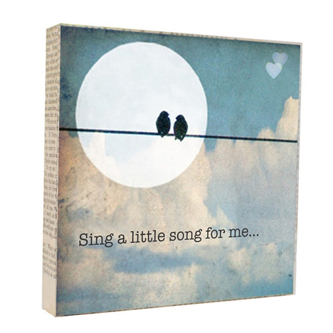 Sing a Song - Photograph Paintings by artist Michelle Ciarlo-Hayes