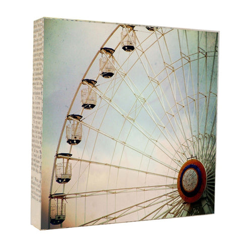 Ferris Wheel - Photograph Photography by artist Michelle Ciarlo-Hayes
