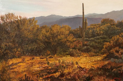 Sonoran Hills - Oil Paintings by artist John Horejs