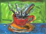 Cup o Joe  -  Paintings by artist Frank Discussion