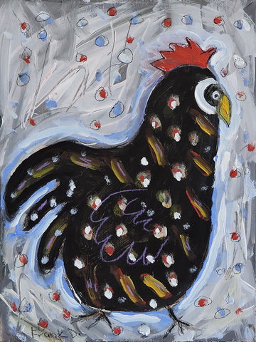 Rooster  -  Paintings by artist Frank Discussion
