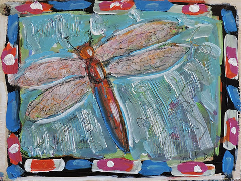 Dragonfly  -  Paintings by artist Frank Discussion