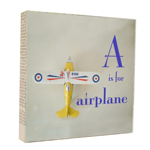 A is for Airplane - Photograph Photography by artist Michelle Ciarlo-Hayes