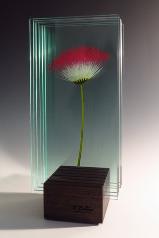 Everywhere - Glass sculpture Sculpture by artist Ana Maria Botero