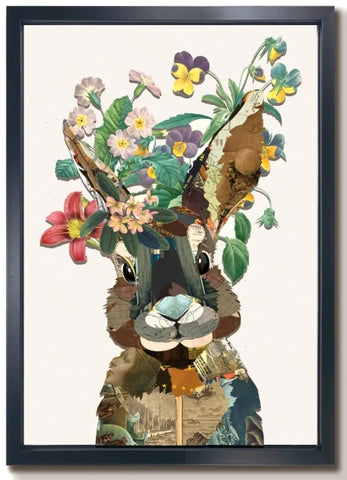 Rabbit -  Collage by artist Leonardo Studios