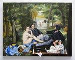 Luncheon on the Grass, 1863 (Manet) - Acrylic/Paper Mache' Paintings by artist Stephen Hansen