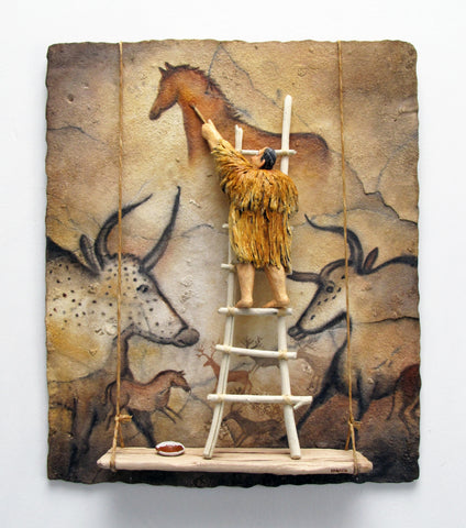 Lascaux -  Paintings by artist Stephen Hansen