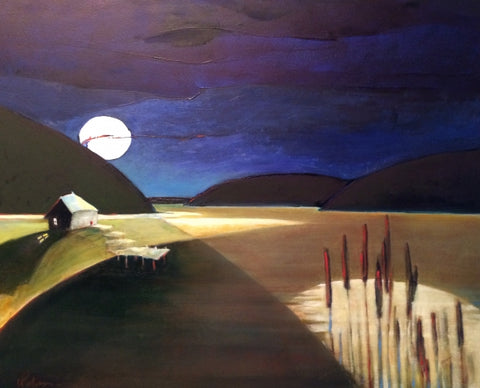 MANCINI MOON - Oil Paintings by artist Constance Patterson
