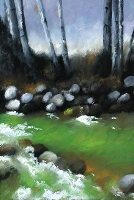 Winter Green - Oil Paintings by artist Melinda Fellini