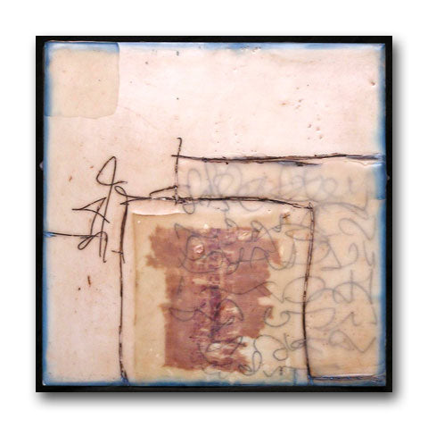the cup - Encaustic Paintings by artist Patricia Baldwin Seggebruch