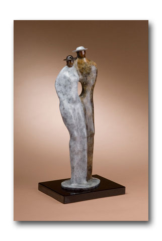 The Whole in My Soul - Bronze Sculpture by artist Guilloume