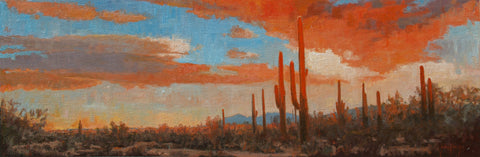"John Horejs - ""Saguaro Ranch Sunset"""