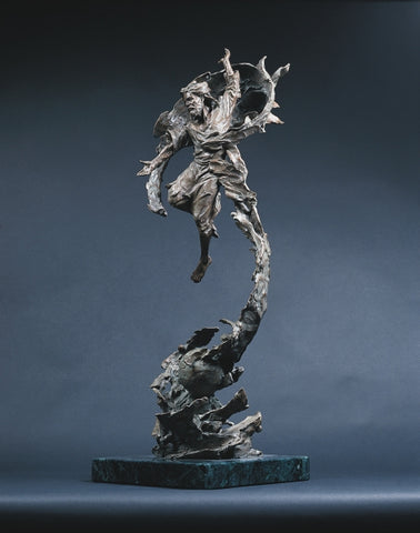 Alpha and Omega - Bronze Sculpture by artist Gary Lee Price
