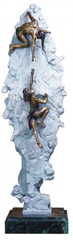 Ascent Free Standing - Bronze Sculpture by artist Gary Lee Price