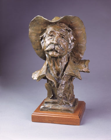 Buddy Banner - Bronze Sculpture by artist Gary Lee Price