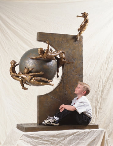 Celebration - Bronze Sculpture by artist Gary Lee Price