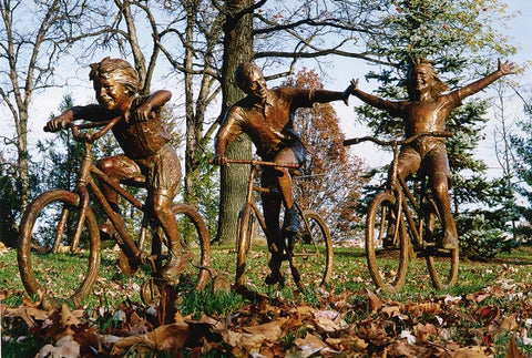 Family Outing - Bronze Sculpture by artist Gary Lee Price