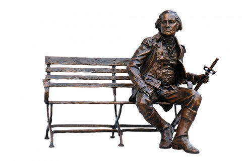 George Washington - Bronze Sculpture by artist Gary Lee Price