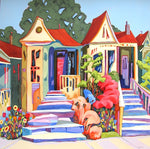 Whimsy Way - Acrylic Paintings by artist Carolee Clark