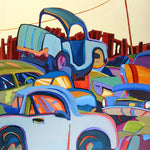 Pile It On - Acrylic Paintings by artist Carolee Clark